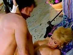 Blonde Milf Fucked By A Pool