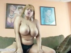 Latina Angel in black panties and getting fucked