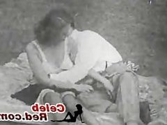 Vintage In Park Old Porn Movie vintage