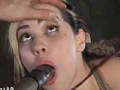 Bondage girl used
