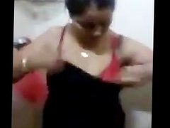 Smart Indian Aunty dress Changing