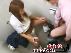 Japanese Profesor And Student Sex In Toilet