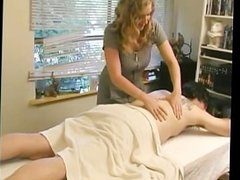 Busty Masseuse Gives Happy Ending