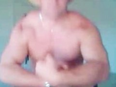 Beefy Southern Man Jerks and Cums
