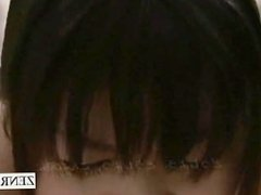 Subtitled ENF giant nudist Japanese woman public fart