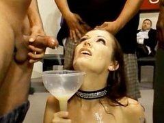Sextreme, Bukkake Swallowing #5