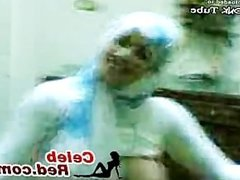 Busty Muslim Hijab Arab Girl Dancing Naked busty