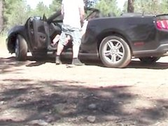 Public fucked in the car