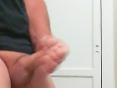 I was so horny, jacking off and cumming