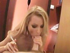 Smoking Fetish Blonde