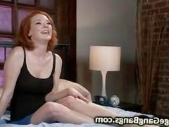 Busty redhead bound and orgy roughly fucked