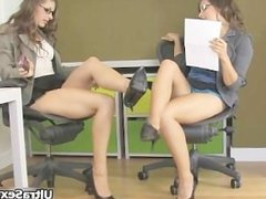Two super hot brunette babes getting part6