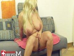 Swiss Porn Model - Jasmin a blond big Titt Model on the Porn Interview
