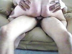 Blonde4blacks: Blonde riding a black cock and cumming hard
