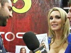 PornhubTV Tanya Tate Interview at eXXXotica 2011