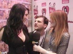PornhubTV Jelena Jensen Interview at 2012 AVN Awards