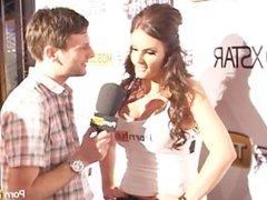 PornhubTV Phoenix Marie PT1 Interview at 2012 AVN Awards