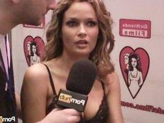 PornhubTV Prinzzess Interview at 2012 AVN Awards