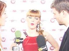 PornhubTV Marie McCray Bree Olson Red Carpet 2012 AVN Awards