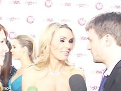 PornhubTV Tanya Tate Eva Karera Interview at 2012 AVNs