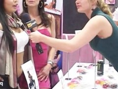 PornhubTV Kendra Lust and Jolie Starr Interviews at eXXXotica 2012