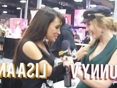 PornhubTV Lisa Ann Interview at eXXXotica 2012
