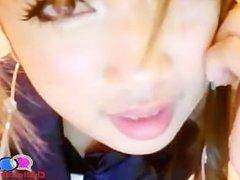 Real Anime Girl Strips on Webcam