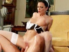 Extremely Hot Maid Fucks Boss