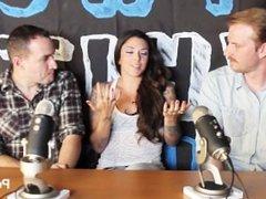 TWG Two White Guys Kayla Jane Danger Pornstar Interview PornhubTV