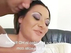 Sandra Romain Gang Banged very hard, foursome