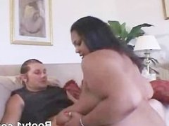 BBW With Monster Tits Riding With Phat Butt