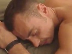 cumslut Christian gets gangbanged raw and cameraman joins in as well
