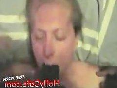BBC Training Amateur Blowjob Interracial