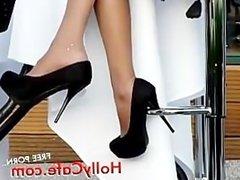 candid high heels Amateur Foot Fetish Voyeur