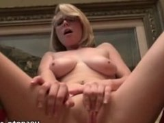 Big titted sluts throated and banged in a nasty party at home