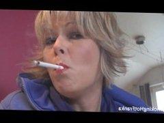 sexy smoking milf