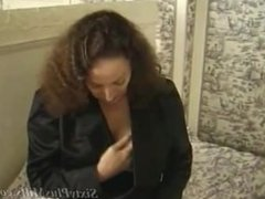 Horny housewife gets a taste of black