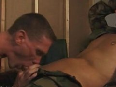 Military men suck a mean cock.
