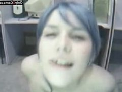 Blue Haired Webcam Hotness - OnlyXCams.com