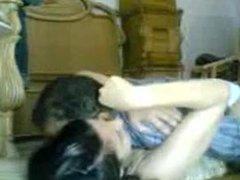 Arab couple fun