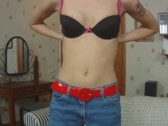 Hot teen Kate gets naked for the cam part3