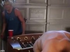 Muscle ass gets fucked by frat boys BB