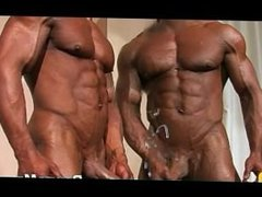 Ripped and tanned Argentino