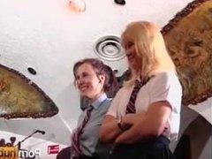 2 Hot Schoolgirls Get Spanked