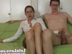 Lelu Love-Masturbation Instruction Handjob Demo