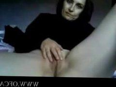Mature amateur mother MILF on webcam he