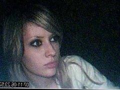 Cute girl hot lips hall leak pros devon