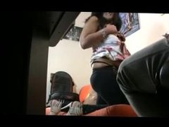 Home hidden video of slut fucking during interview