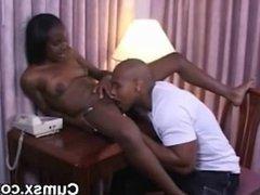 Black Afro Hottie Slut Pussy Licked