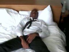 Horny black amateur religious elder